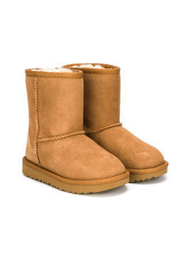 Ugg Australia Kids classic slip-on ugg boots - Brown