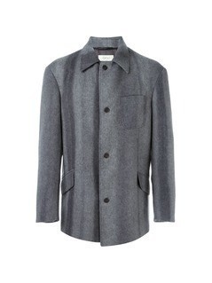 Romeo Gigli Vintage single breasted short coat - Grey