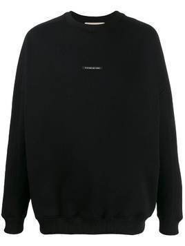 Buscemi logo label sweatshirt - Black
