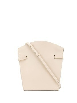 Aesther Ekme Midi leather satchel - NEUTRALS