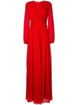Giambattista Valli Deep Rouge dress - Red