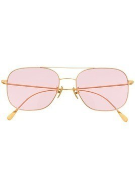 Cutler & Gross aviator frame sunglasses - PINK