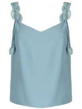Martha Medeiros Maju tank top - Blue