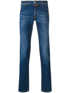 Jacob Cohen - slim-fit jeans - Herren - Cotton/Spandex/Elastane/Polyester - 40 - Blue