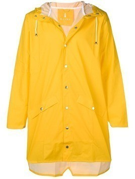 Rains water-resistant hooded coat - Yellow