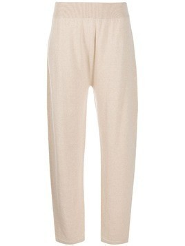 Agnona knitted trousers - NEUTRALS