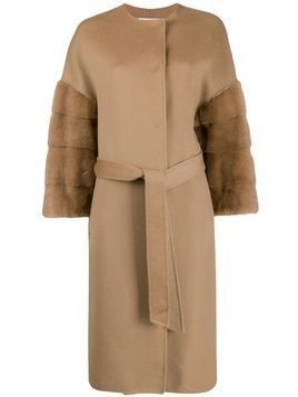Ava Adore Bilbao belted coat - Brown