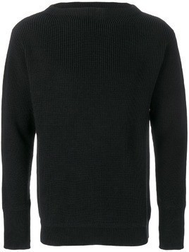 Andersen-Andersen ribbed sweater - Black