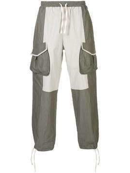 Iise panelled cargo trousers - Grey