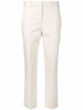 Jil Sander Navy cropped tailored trousers - Neutrals