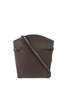 Aesther Ekme Midi leather satchel - Brown