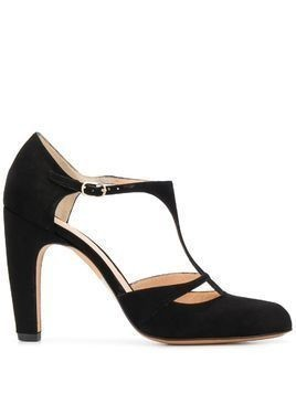 Chie Mihara cut-out detail pumps - Black
