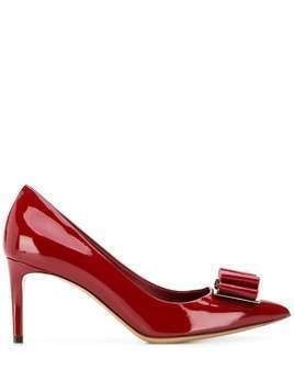 Salvatore Ferragamo Vara Bow pumps - Red