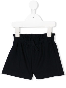 Il Gufo elasticated waist shorts - Blue