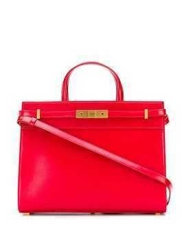 Saint Laurent Manhattan small shopping bag - Red