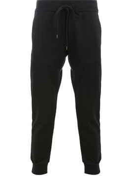 Attachment relaxed trousers - Black