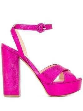 P.A.R.O.S.H. Cathy platform sandals - PINK
