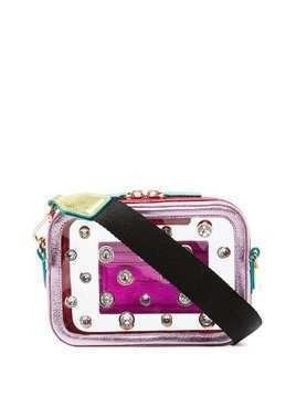 Sophia Webster Dina gem cross-body bag - Pink