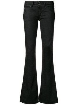Hudson low rise flared jeans - Black
