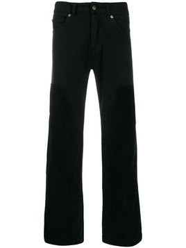 David Catalan wide leg trousers - Black