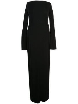 Mugler off shoulder gown - Black
