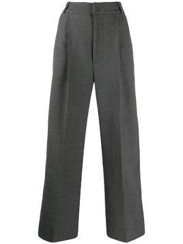 Mira Mikati cropped wide leg trousers - Grey