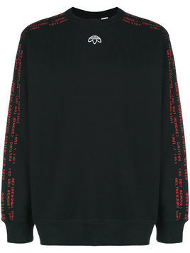 Adidas Originals By Alexander Wang AW Crew Neck sweatshirt - Black