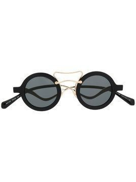 Miu Miu Eyewear sculptural frame sunglasses - Black