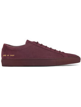 Common Projects - Nubuck Original Achilles low-top trainers - Herren - Leather/rubber - 43 - Red