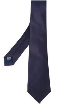 Fashion Clinic Timeless woven tie - Blue