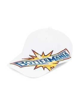 Botter embroidered logo baseball cap - White
