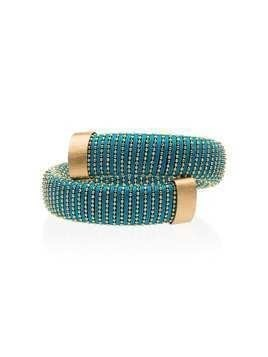 Carolina Bucci Caro yellow-gold plated bangle - Metallic