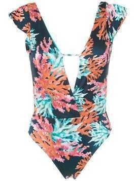 Brigitte printed swimsuit - Multicolour