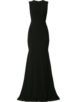 Alex Perry Mae open back gown - Black