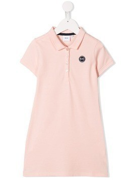 Boss Kids short sleeve polo dress - PINK