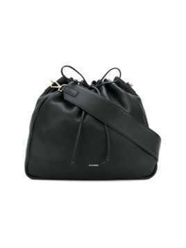 Jil Sander large bucket tote bag - Black
