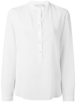 Stella McCartney mandarin collar shirt - White