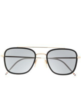 Thom Browne Eyewear oversized sunglasses - Gold