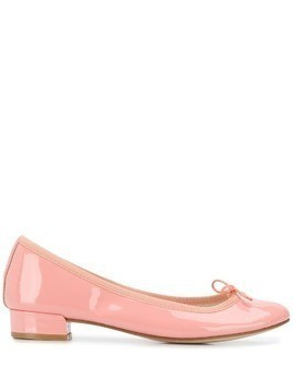 Repetto jane patent-leather ballerinas - PINK
