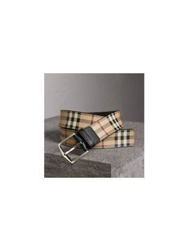 Burberry Haymarket Check Belt - Unavailable