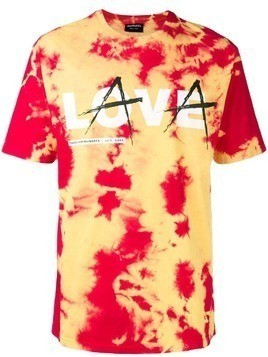 Mauna Kea tie-dye printed T-shirt - Yellow