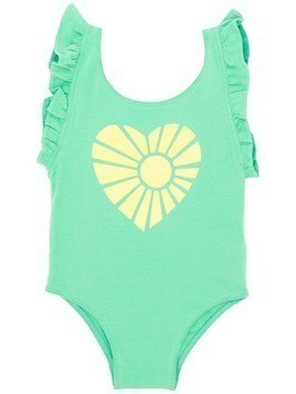 Bandy Button Atla swimsuit - Green