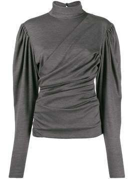 Isabel Marant Davina top - Grey