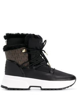 Michael Michael Kors lace-up ankle boots - Black