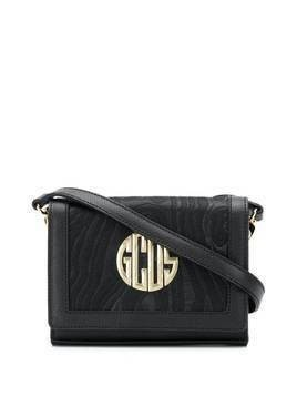 Gcds jacquard crossbody bag - Black