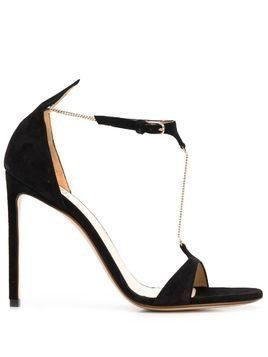 Francesco Russo stiletto sandals - Black