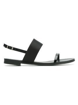 Studio Chofakian flat sandals - Black
