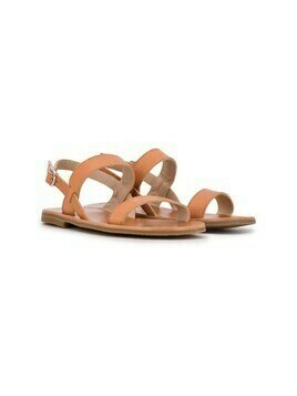 Gallucci Kids strappy sandals - Brown