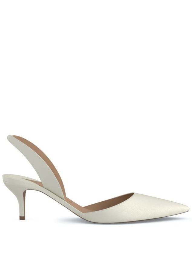 Paul Andrew Rhea 55 pumps - White