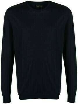 Roberto Collina fine knit cotton jumper - Blue